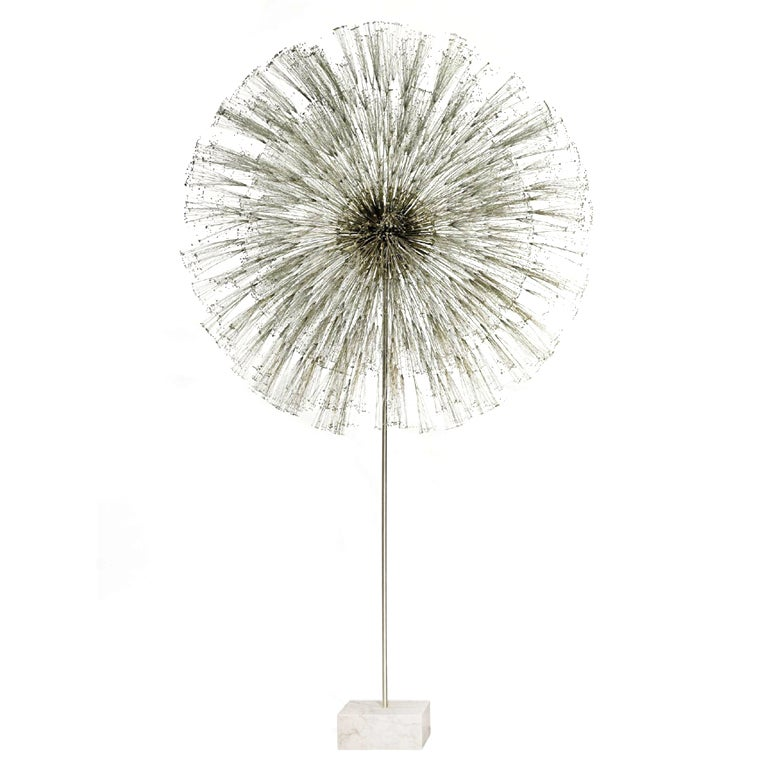 Outstanding and Rare Dandelion Sculpture by Harry Bertoia 1