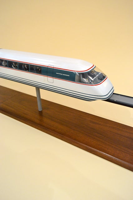 how to make a model of maglev train