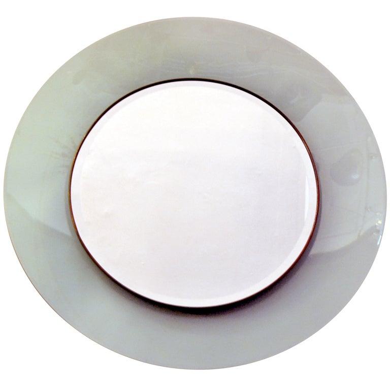 Elegant wall mirror at 1stdibs for Elegant mirrors