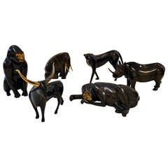 Majestic Bronze Collection of Animals by Loet Vanderveen