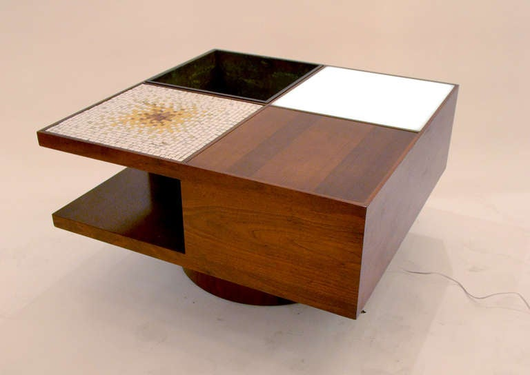 Multifunctional Coffee Table by Vladimir Kagan 2 - Multifunctional Coffee Table By Vladimir Kagan For Sale At 1stdibs