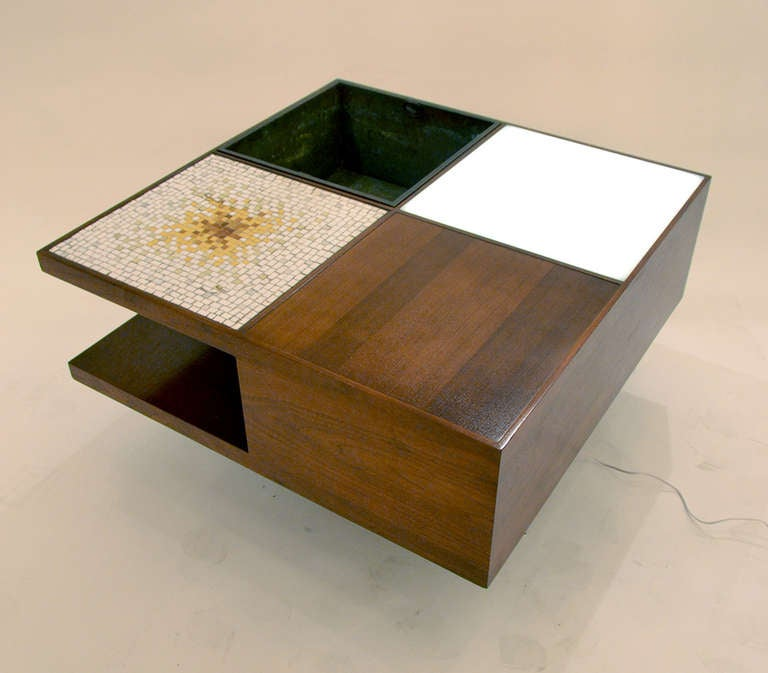 Multifunctional Coffee Table By Vladimir Kagan At 1stdibs