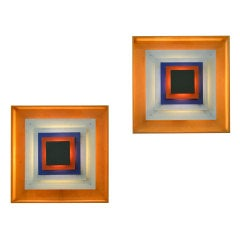 Pop Art Sconces by Bent Karlby, Lyfa.