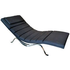 Elegant Chaise Model #5490 by George Nelson for Herman Miller