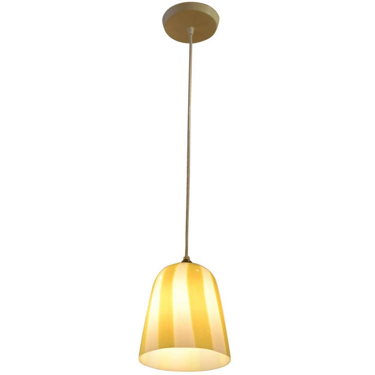 Venini Pendant Attributed to Massimo Vignelli, Italy 1960s For Sale