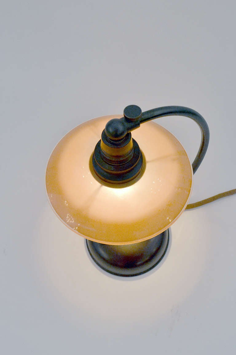 Mid-20th Century Petite Poul Henningsen Bedside Table Lamp For Sale