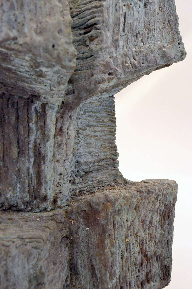 Bronze Harry Bertoia Architectural Weldment Maquette, USA 1960s For Sale