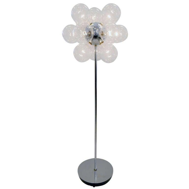 Retro Modern Sputnik Floor Lamp For Sale