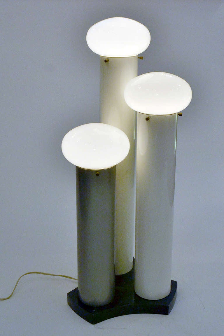 Wonderful Hans Agne Jakobsson  Futuristic Table Lamp At 1stdibs