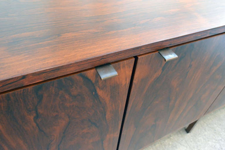 Spectacular Nine Foot Long Rosewood Knoll Credenza image 4