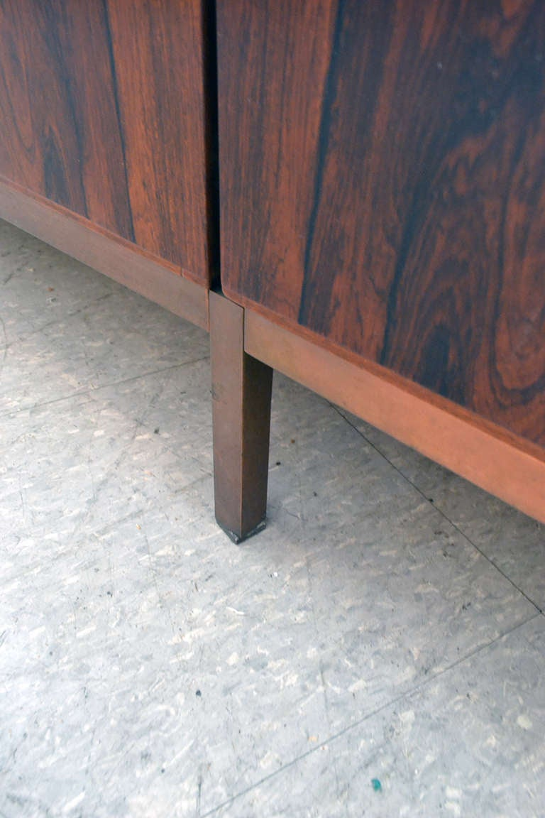 Spectacular Nine Foot Long Rosewood Knoll Credenza image 5