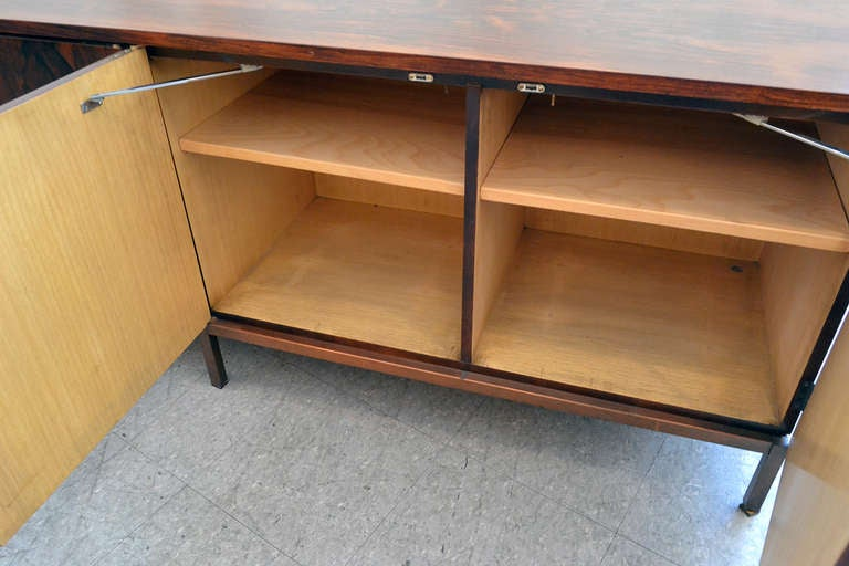 Spectacular Nine Foot Long Rosewood Knoll Credenza 7