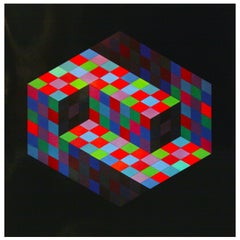 Victor Vasarely Gestalt Series Prints by Editions du Griffon