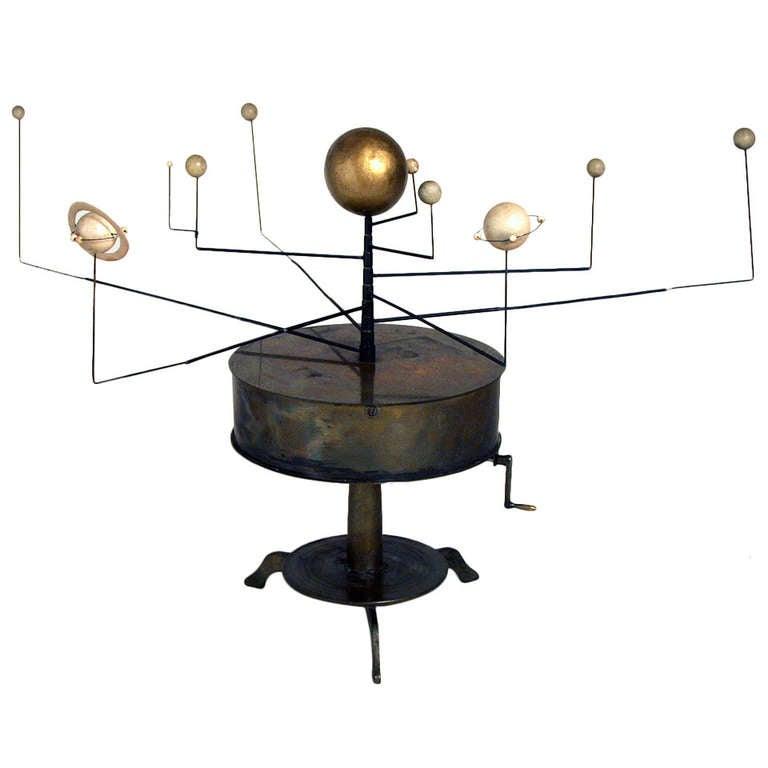 brass orrery solar system - photo #12