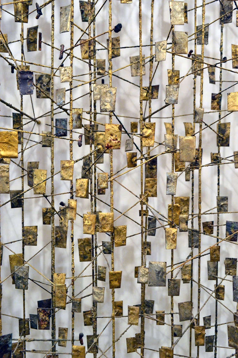 Early And Rare Wall Sculpture By Harry Bertoia At 1stdibs