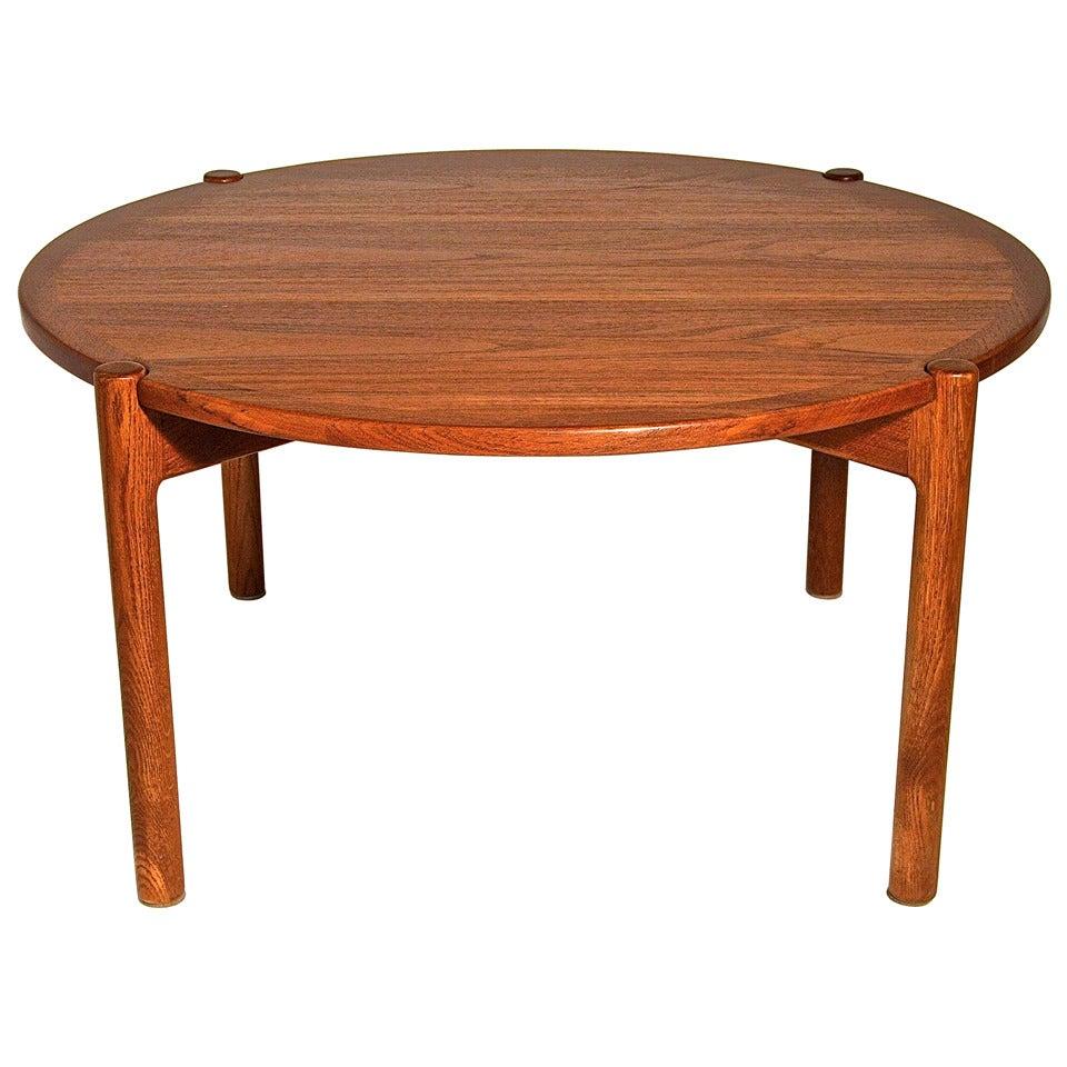 hans wegner reversible coffee table for johannes hansen at 1stdibs
