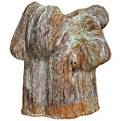 """Harry Bertoia Bronze Sculpture """"Rod and Tubes"""""""