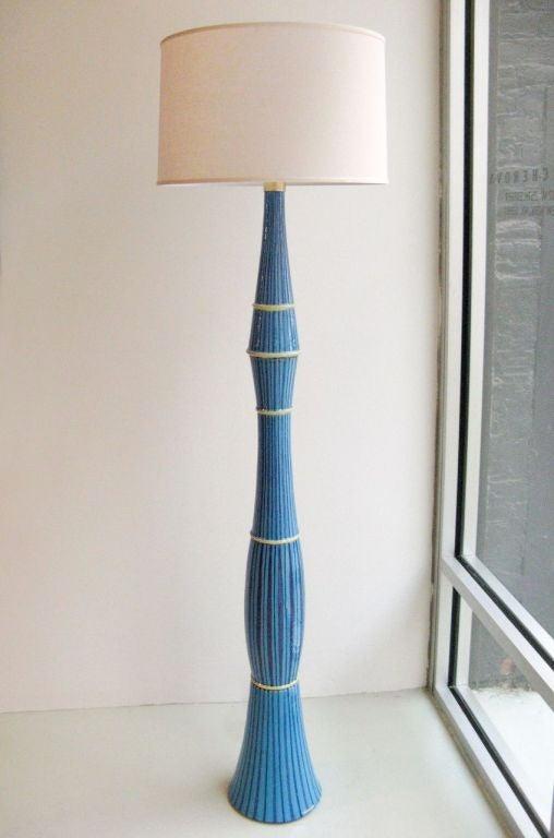 San Polo Ceramic Floor Lamp At 1stdibs