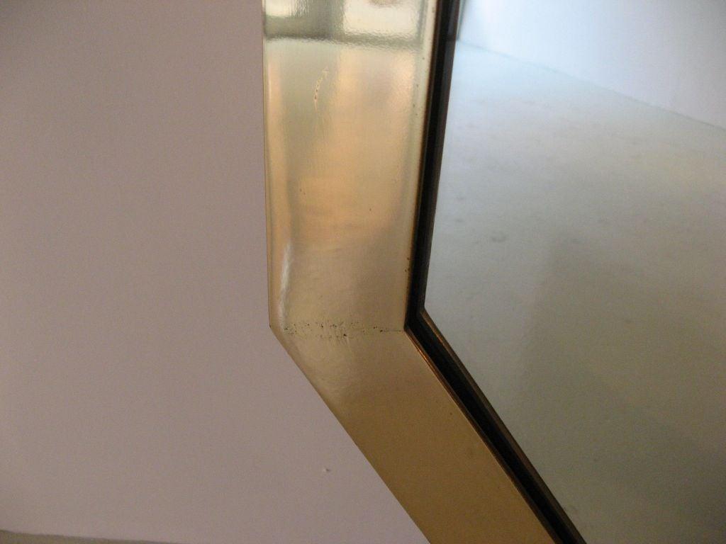 Large Octagonal 6 Foot Mirror By Maison Jansen At 1stdibs