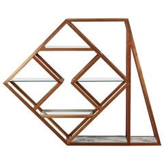 """""""Slanted and Enchanted"""" Etagere by Only Love is Real"""