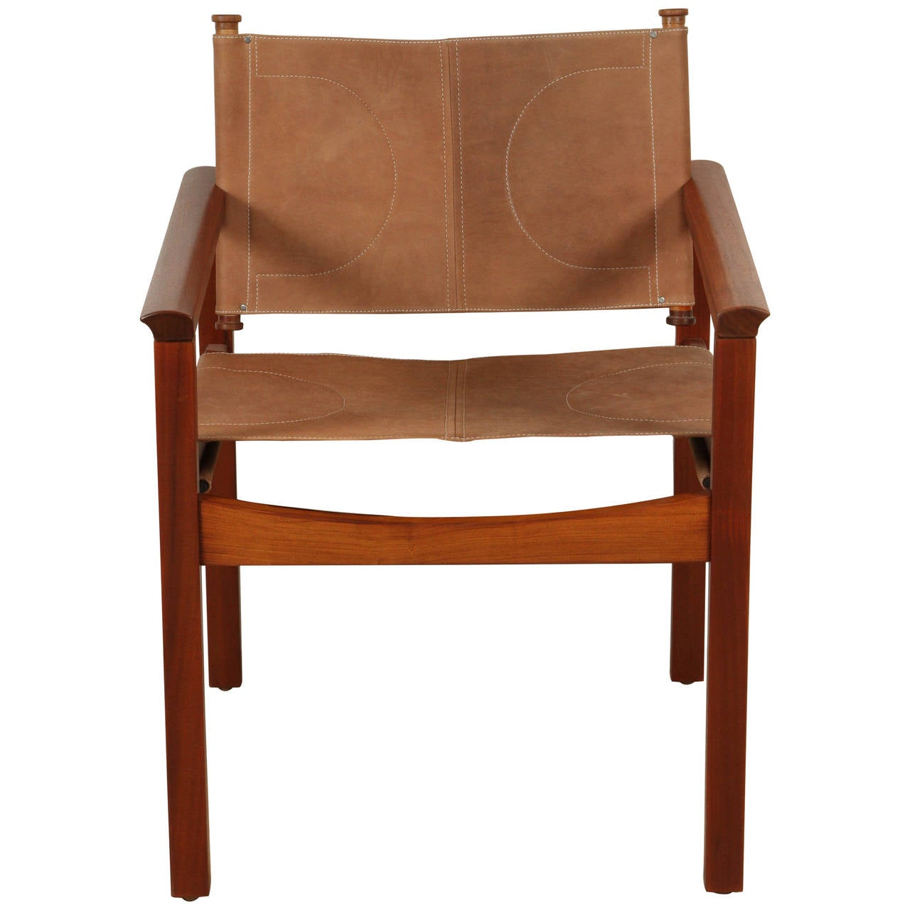 Leather Sling Chair By Michel Arnoult At 1stdibs
