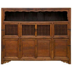 Early 19th Century Kitchen Cupboard in Elm