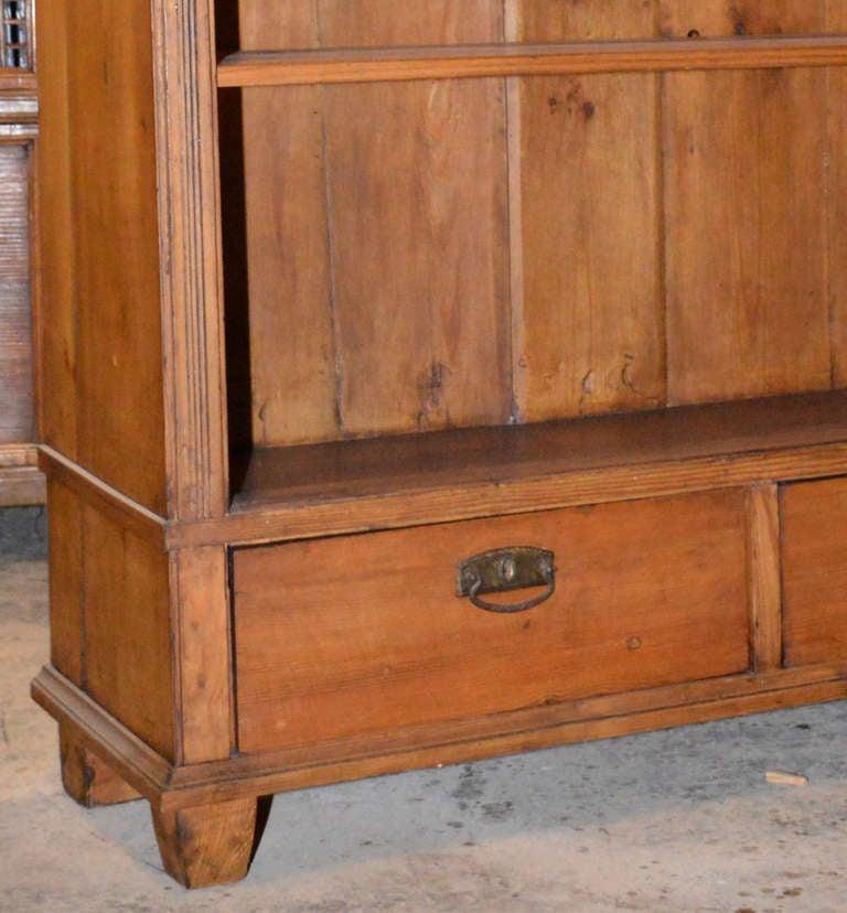 20th Century Continental Art Nouveau Bookcase For Sale