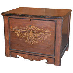 Painted Country Hope Chest