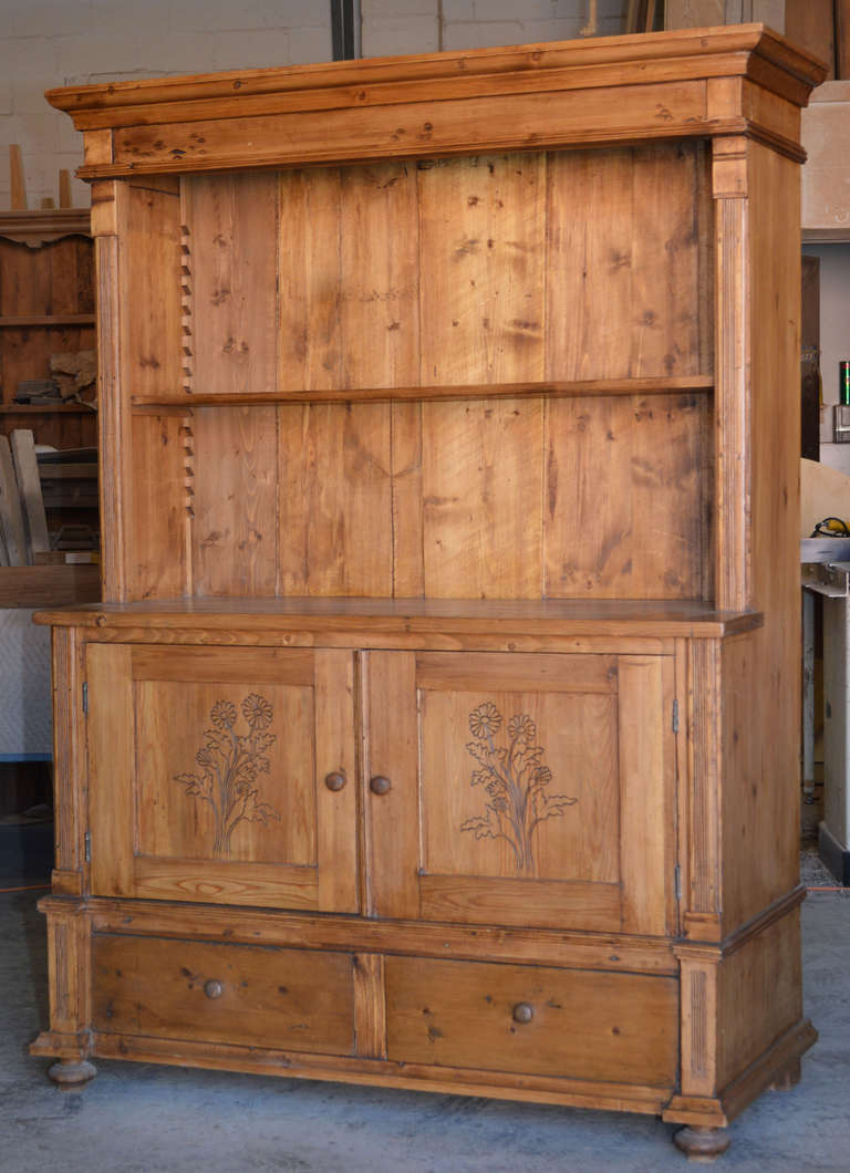 Pin Swedish Pine Hutch Lot on Pinterest