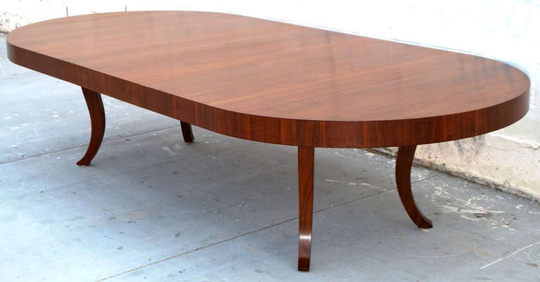 Expanding dining table of midcentury design with for Table 6 4 specification for highway works