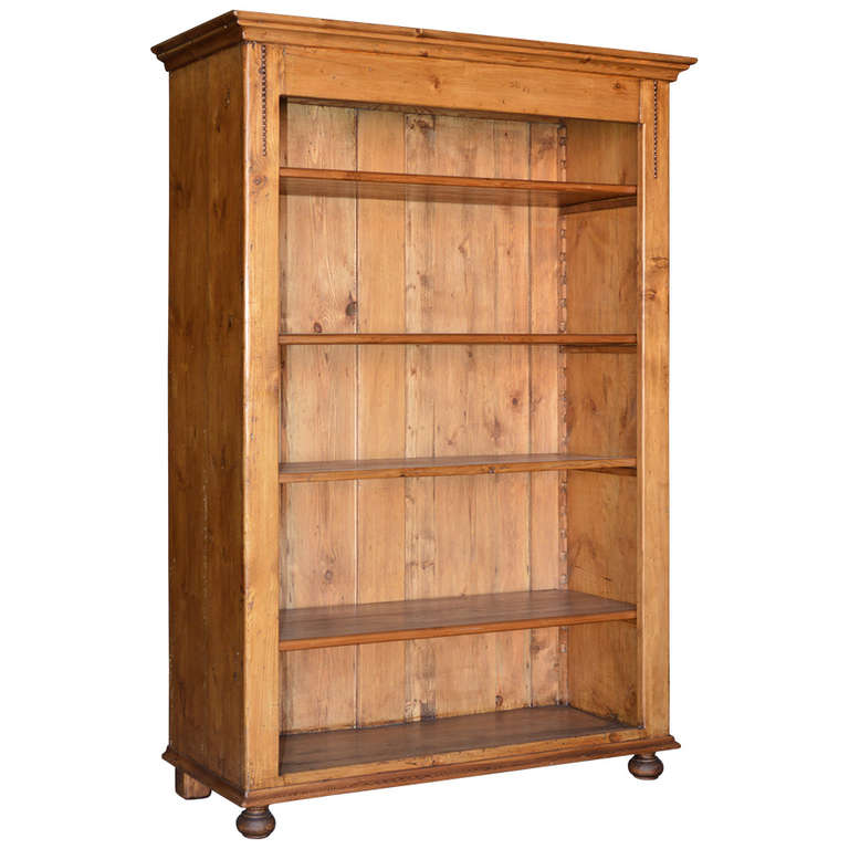 arts and crafts bookcase circa 1900 at 1stdibs. Black Bedroom Furniture Sets. Home Design Ideas