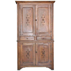 Arts and Crafts Hutch, Buffet Duex Corps