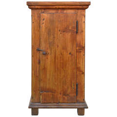 Small Skinny Cupboard, 19th Century Primitive
