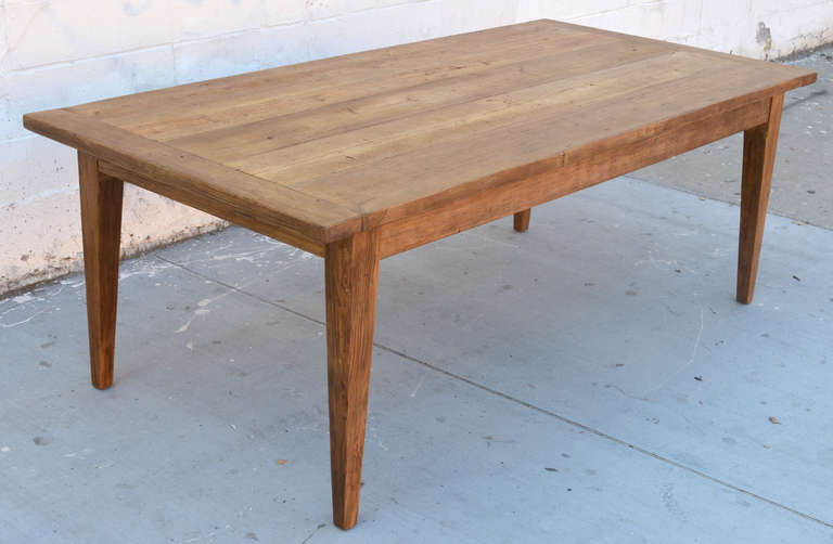 Genial Custom Pine Harvest Table With Two Extension Leaves. This Table Is Made  From Hand Selected