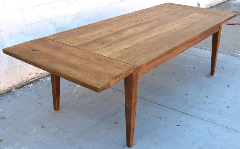 Strange Expandable Harvest Table In Vintage Heart Pine Custom Made By Petersen Antiques Interior Design Ideas Lukepblogthenellocom
