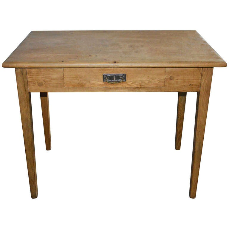 Small Antique Desk or Farm Table For Sale at 1stdibs