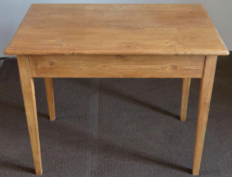 Small Antique Desk or Farm Table 3 - Small Antique Desk Or Farm Table For Sale At 1stdibs