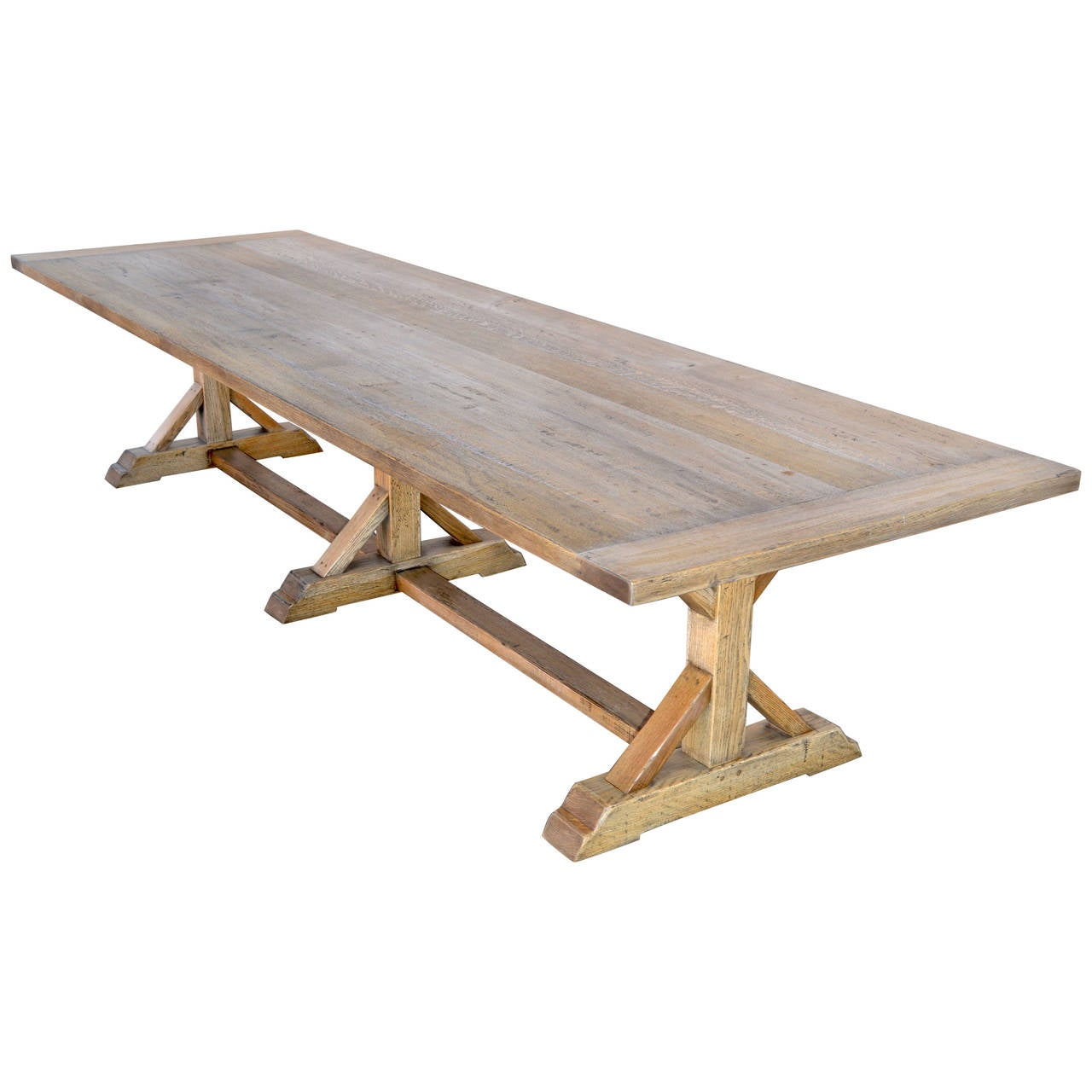 Vintage Oak Farm Table at 1stdibs : 2861192l from www.1stdibs.com size 1280 x 1280 jpeg 81kB