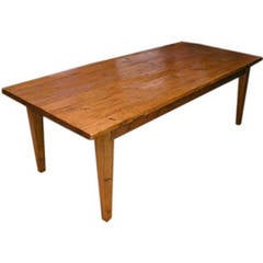 Rustic Farm or Harvest Table, Built to Order by Petersen Antiques