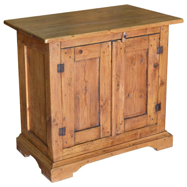 Small Antique Cabinet, Server, or Sideboard circa 1870 1 - Small Antique Cabinet, Server, Or Sideboard Circa 1870 For Sale At