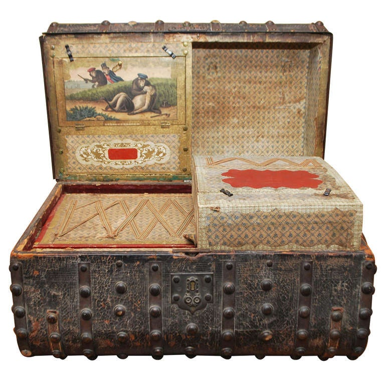 Jenny Lind Stagecoach Chest Very Special At 1stdibs