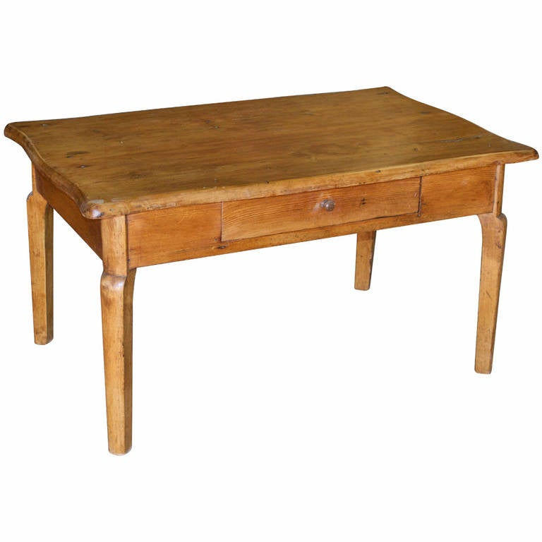 Coffee Table Or End Table Made From An Antique Desk For
