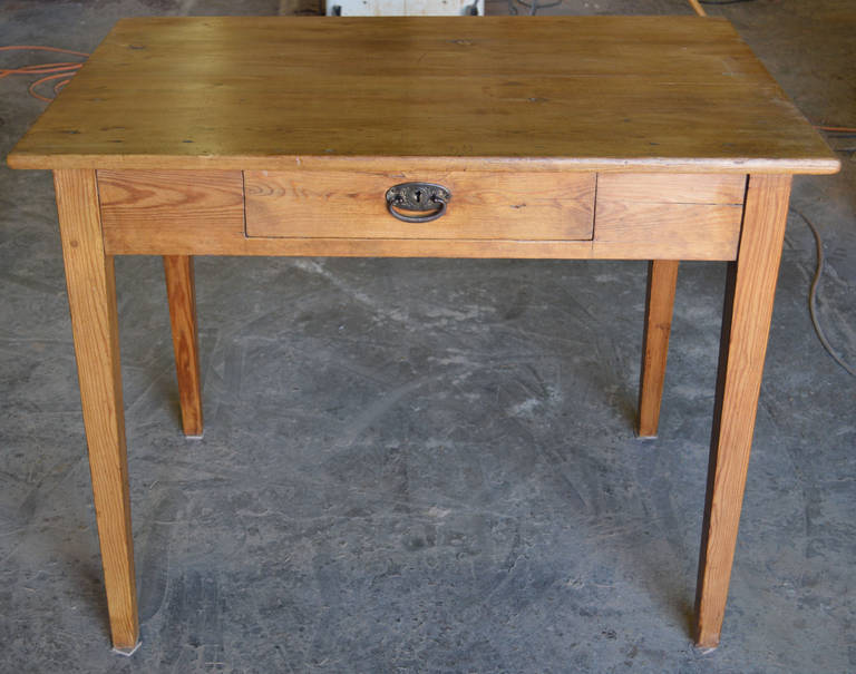 Country Small Antique Desk or Farm Table For Sale - Small Antique Desk Or Farm Table For Sale At 1stdibs