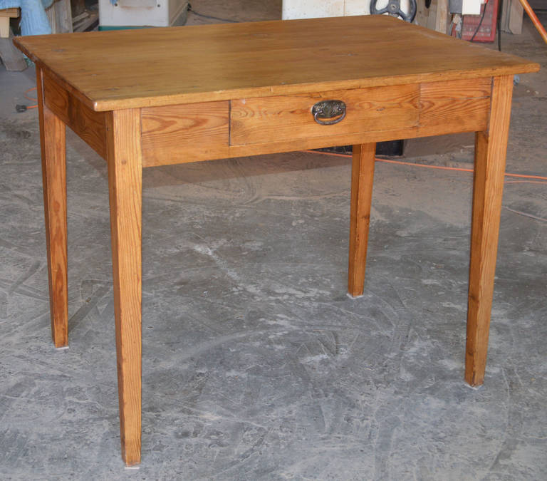 Genial Classic Country Table With A Single Drawer. Unlike Many Older Tables, This  One Offers