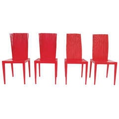 Set of Four Jenette Dining Chairs by the Campana Brothers