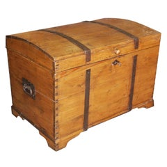 Large 19th Century Continental Chest or Blanket Box