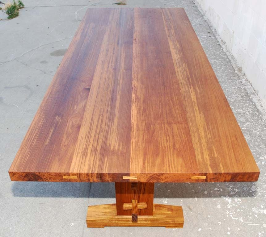 Indoor or Outdoor Dining Table in Solid Teak, Can Be ...