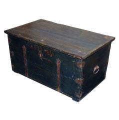 Hope Chest dated 1831, Coffee Table Height