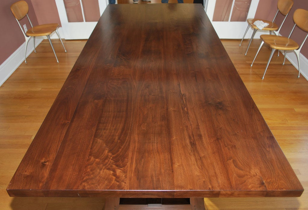 dining room tables for sale cheap | Walnut Dining Table, Built to Order by Petersen Antiques ...