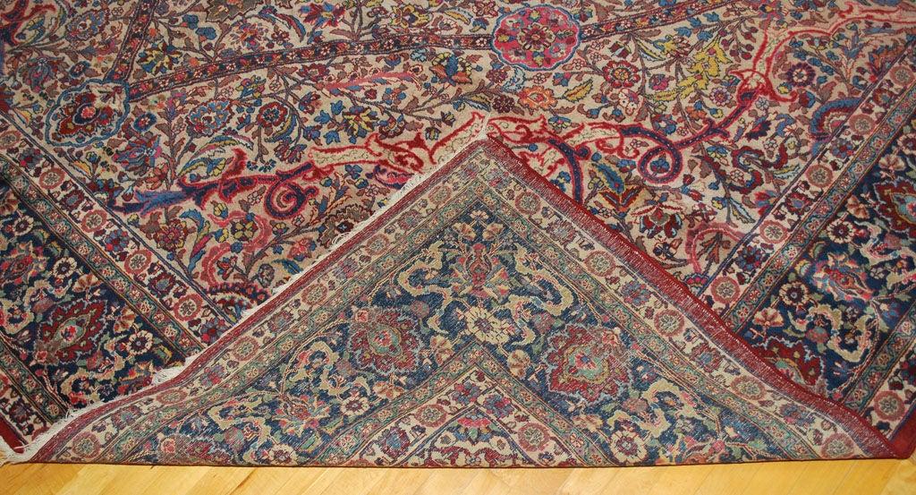 Antique Kerman Lavar Carpet For Sale At 1stdibs
